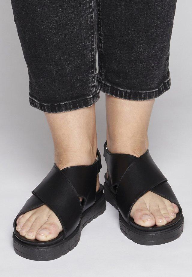 IAVALERIANA - Sandals - black