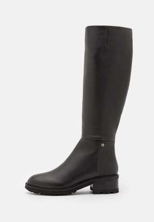 ASHLEY - Vysoká obuv - black