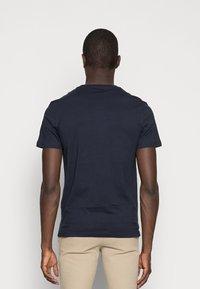 Pier One - 5 PACK - T-shirts basic - dark blue/grey/khaki - 2