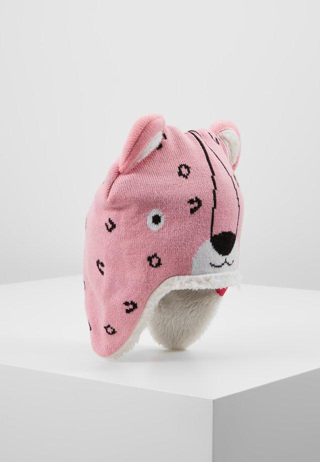 LEOPARD BEANIEHDWR - Muts - prism pink