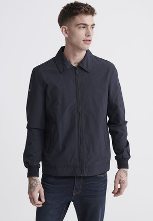 COLLARED HARRINGTON - Summer jacket - navy