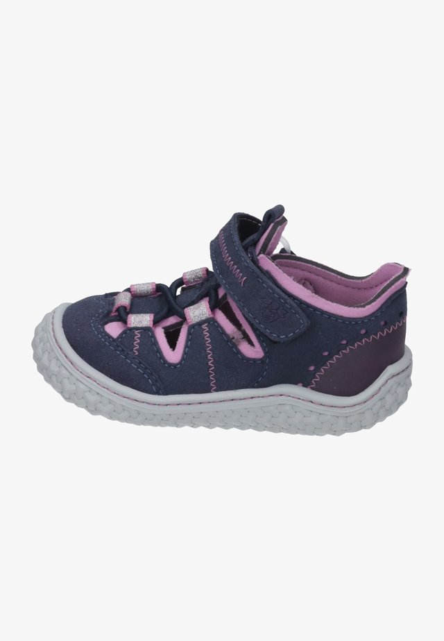 Babyschoenen - ocean/rosada