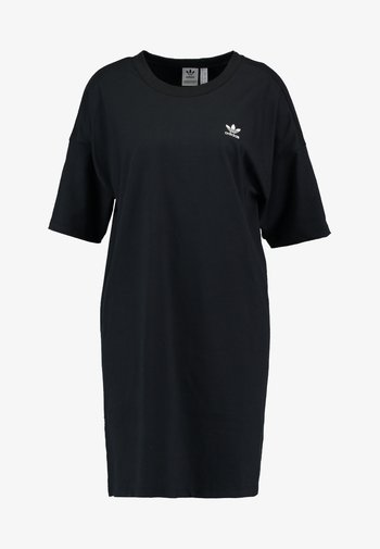 TREFOIL DRESS - Jersey dress - black