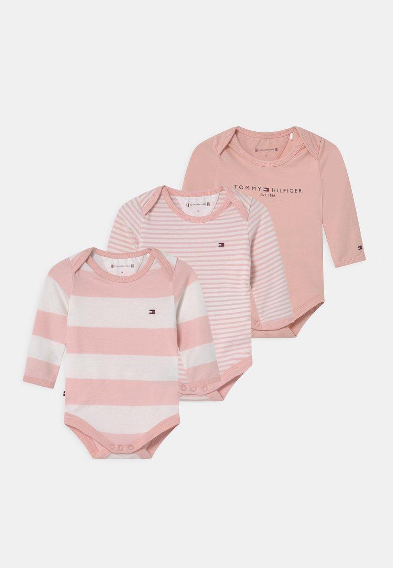 Tommy Hilfiger - BABY GIFTBOX 3 PACK UNISEX - Geboortegeschenk - pink
