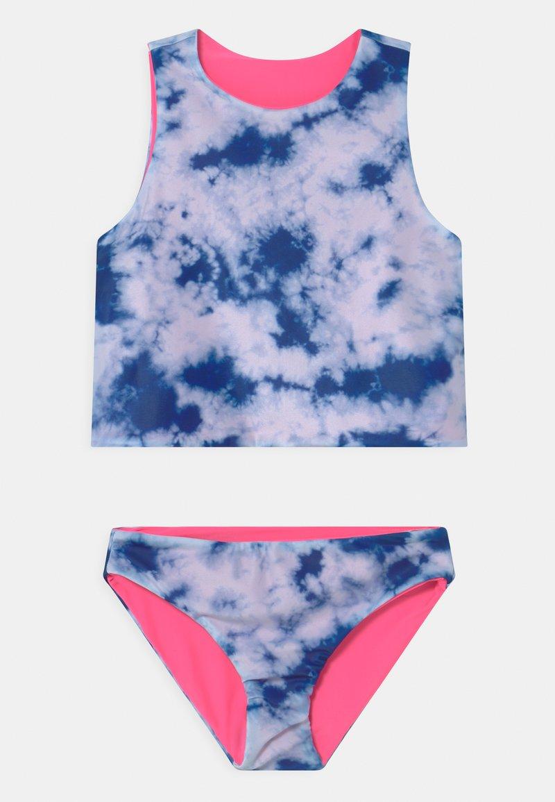 GAP - GIRL REVERSIBLE SET - Swimsuit - navy
