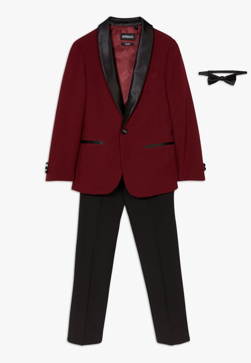 OppoSuits - HOT TUXEDO TEENS SET - Oblek - burgundy