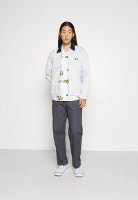 Obey Clothing - HARDWORK CARPENTER PANT  - Kangashousut - french navy - 3