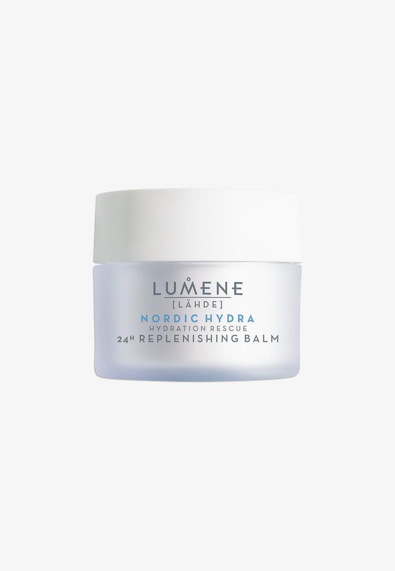 Lumene - NORDIC HYDRA [LÄHDE] HYDRATION RESCUE 24H NOURISHING BALM  - Face cream - -