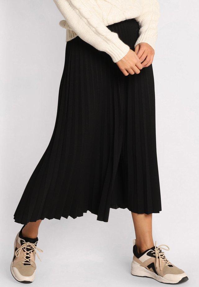 Falda plisada - noir