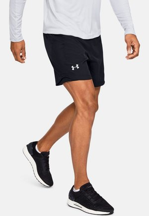 QUALIFIER SHORTS MIT SPEEDPOCKET - Sports shorts - black