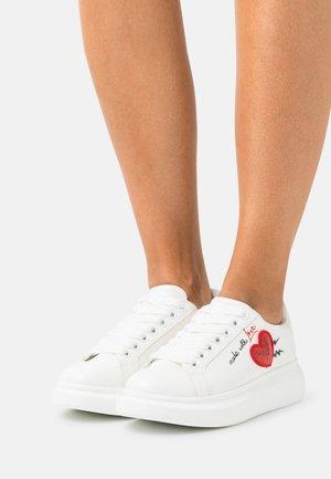 LAREALIN - Sneakersy niskie - white