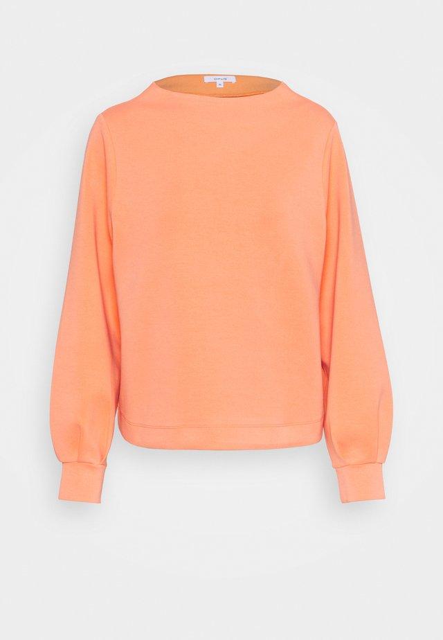 GAUMI - Topper langermet - orange peel