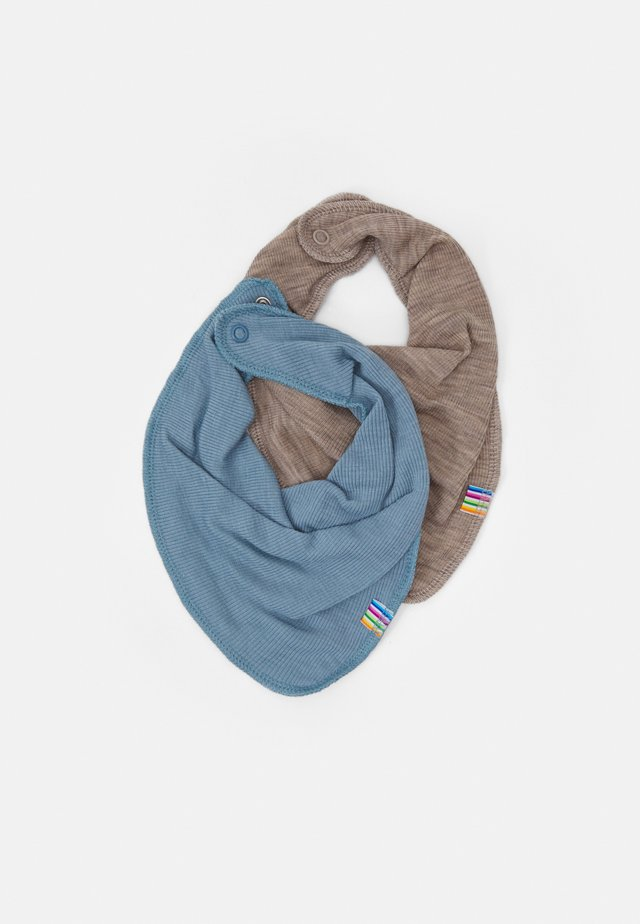 SCARF 2 PACK - Scarf - light blue/mottled light brown