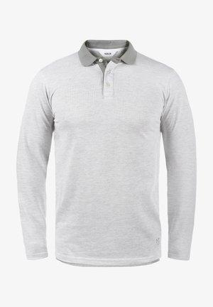 PANTOS - Polo shirt - light grey melange