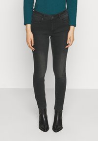Opus - ELMA SHADOW - Jeans Skinny Fit - soft washed black - 0
