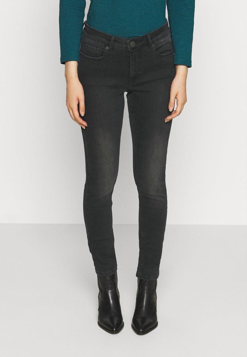 Opus - ELMA SHADOW - Jeans Skinny Fit - soft washed black