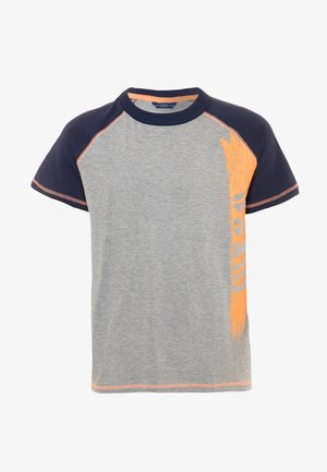 JUNIOR  - Print T-shirt - light heather grey