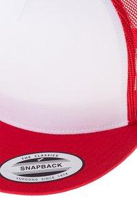 Flexfit - Cap - red/white/red - 6