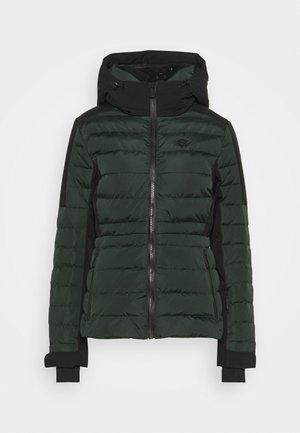 ANOESJKA JACKET - Kurtka narciarska - emerald green