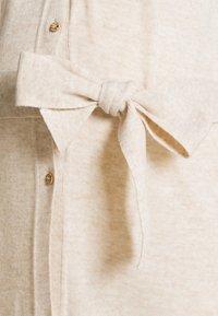MAMALICIOUS - MLZIA LONG CARDIGAN - Jersey dress - oatmeal - 2