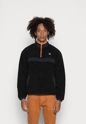 GREGORIO - Fleece jumper - black
