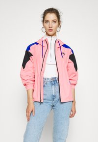 The North Face - EXTREME WIND JACKET - Windjack - miami pink combo - 0