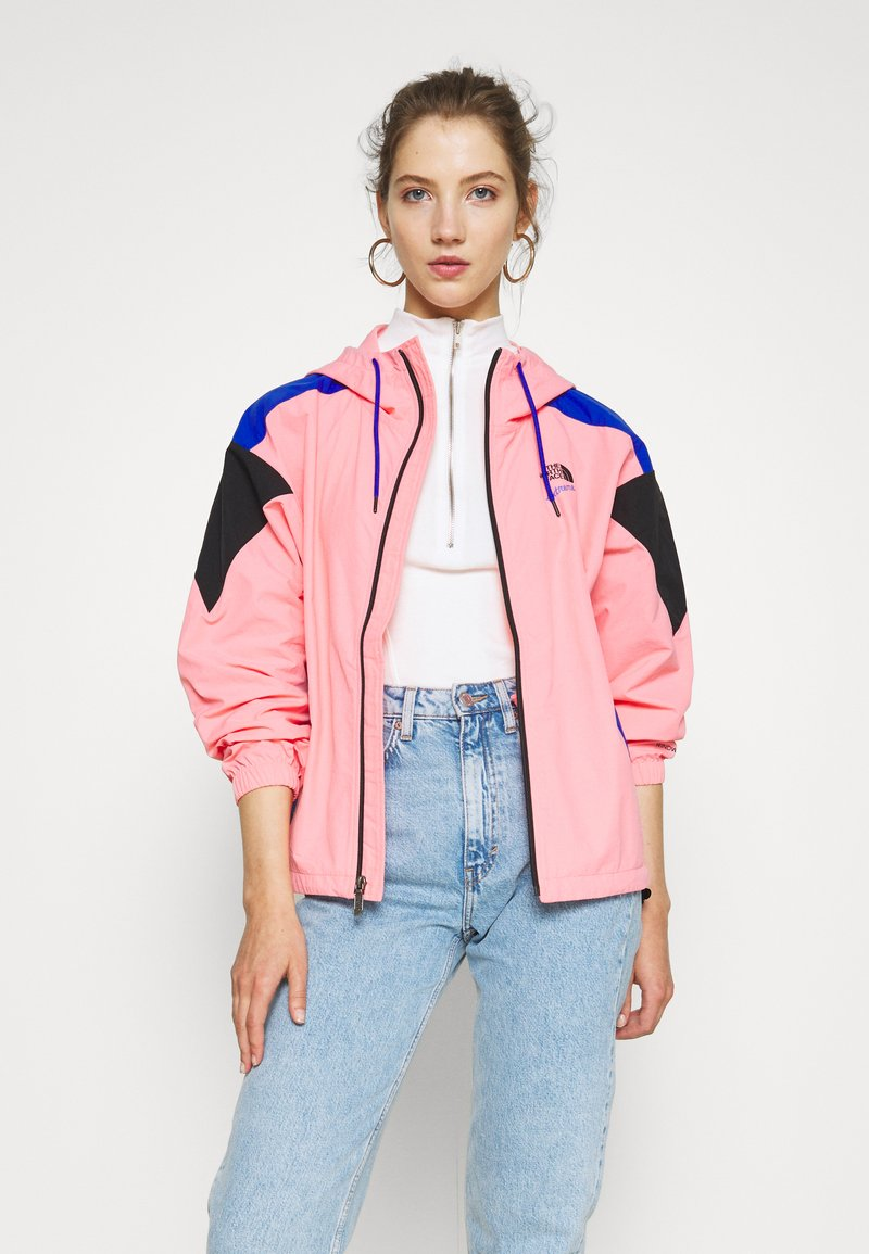 The North Face - EXTREME WIND JACKET - Windjack - miami pink combo
