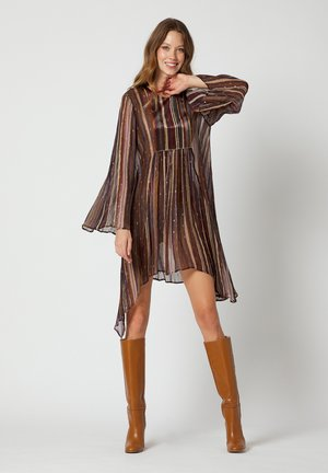 Cocktail dress / Party dress - cacao