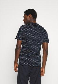 TOM TAILOR - Print T-shirt - navy/white - 2