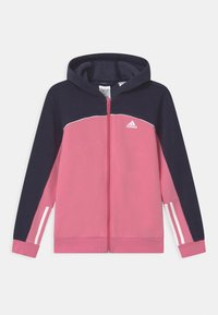 adidas Performance - Zip-up sweatshirt - rose tone/vivid red/white - 0