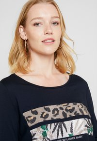 comma casual identity - 3/4 ARM - Long sleeved top - blue - 3