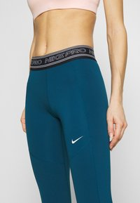 Nike Performance - TIGHT 7/8  - Leggings - valerian blue/black/white - 5
