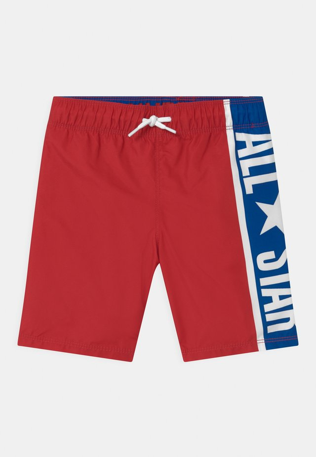 ALL STAR POOLSIDE - Swimming shorts - enamel red