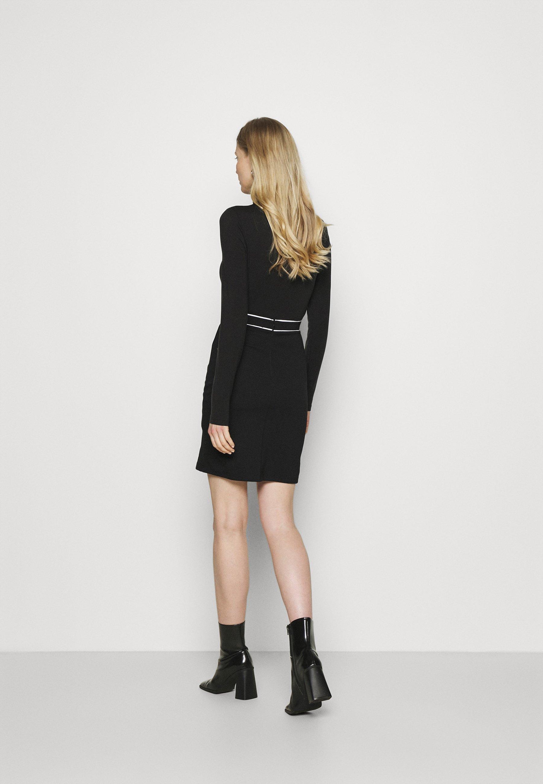 Femme Mini punto smart comfy skirt - Jupe crayon
