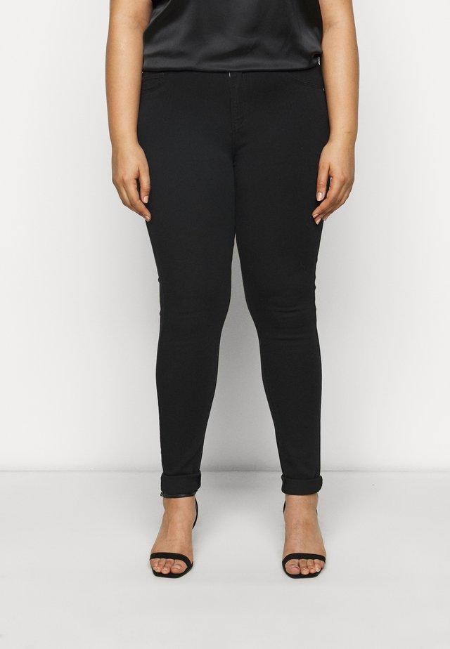 CARSTORM - Jeans Skinny Fit - black denim