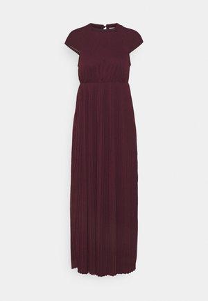 VIKALINA PLISSE DRESS - Maxi dress - winetasting