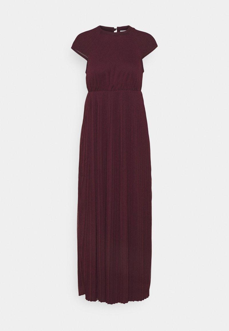 VILA PETITE - VIKALINA PLISSE DRESS - Maxi dress - winetasting
