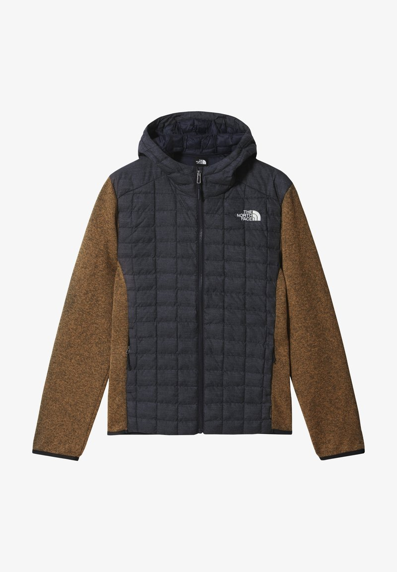 The North Face - M THERMOBALL GORDON LYONS HOODIE - Outdoorjacka - aviator navy/utility brwn