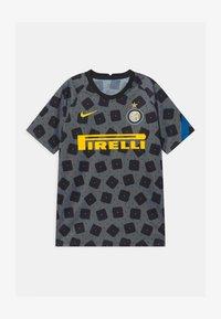 Nike Performance - INTER MAILAND UNISEX - Club wear - dark grey/tour yellow - 0