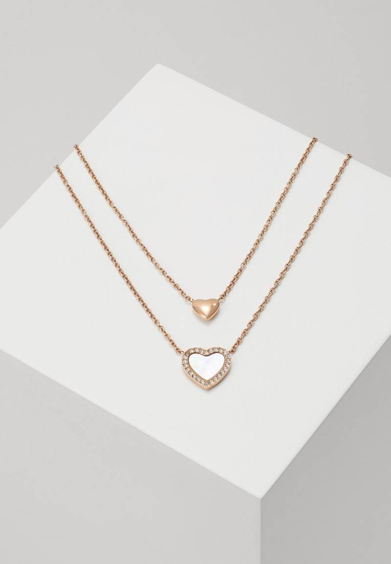 Fossil - VINTAGE GLITZ - Ketting - rose gold-coloured