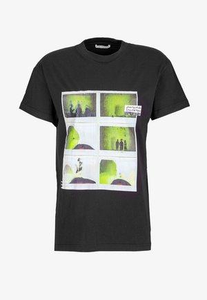 NEW DAYLEN - T-shirt print - black