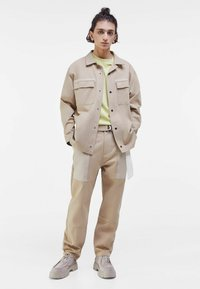 Bershka - Summer jacket - light grey - 1