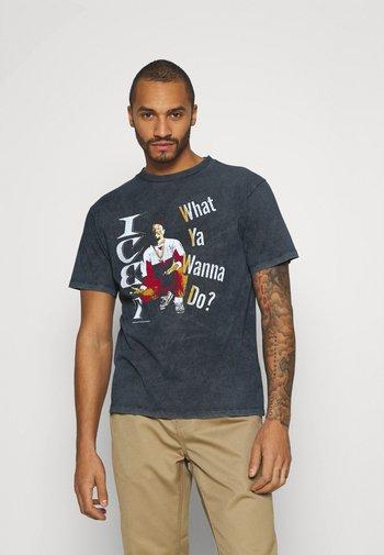 ICE T - Print T-shirt - black