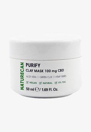 PURIFY CBD CLAY MASK  - Masque visage - -