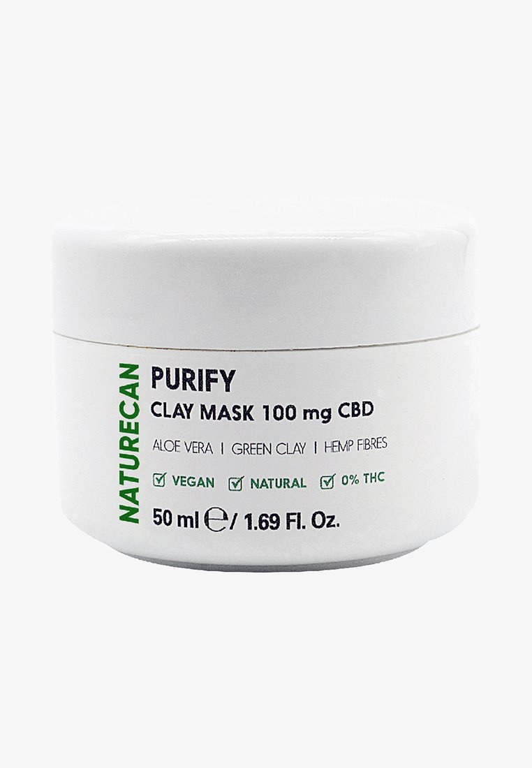 NATURECAN - PURIFY CBD CLAY MASK  - Face mask - -
