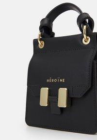 Maison Hēroïne - MARLENE NANO - Handbag - black - 5