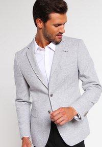 Pier One - Blazer jacket - light grey - 0