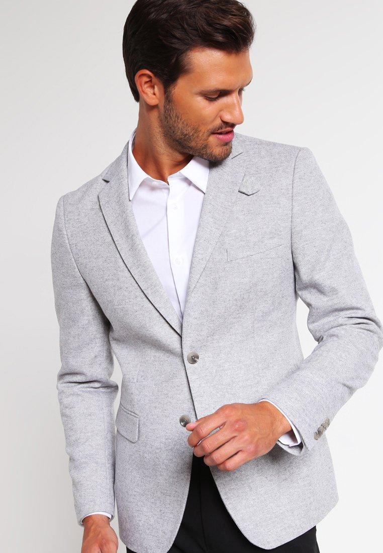 Pier One - Blazer jacket - light grey