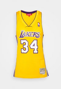 Mitchell & Ness - NBA LOS ANGELES LAKERS WOMENS SWINGMAN SHAQUILLE ONEAL  - Club wear - yellow - 5