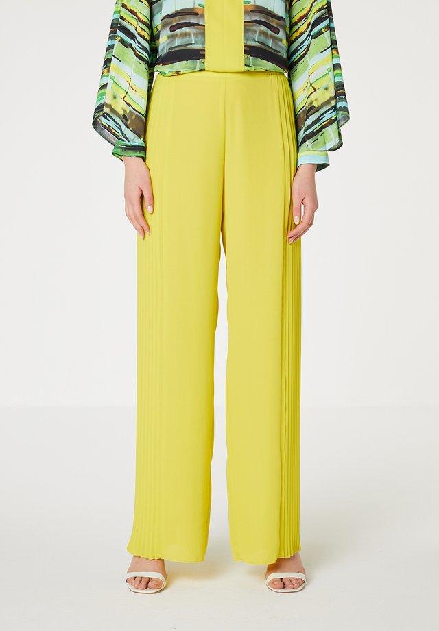 Pantalon classique - amarillo